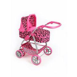 Multifunkciós játék babakocsi PlayTo Jasmínka rózsaszín (a csomagolás sérült)