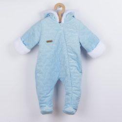 Téli baba kezeslábas Nicol Kids Winter kék