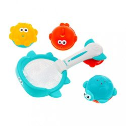Akuku kosár játékokkal vízi játék