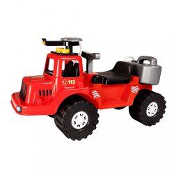 Gyerek jármű vízpermettel oltó tűzoltó tartállyal BAYO 70 cm