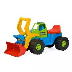 Gyerek kotró és rakodó jármű BAYO 74 cm kék