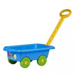 Gyerek utánfutó Pótkocsi BAYO 45 cm kék
