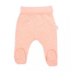 Baba pamut lábfejes nadrág Nicol Rainbow rózsaszín