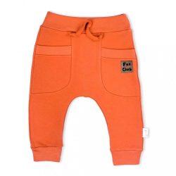 Baba melegítő nadrág Nicol Fox Club narancssárga