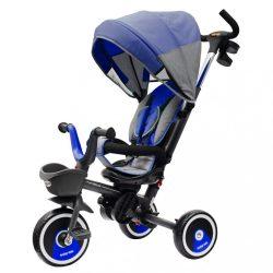 Gyerek tricikli Baby Mix 5az1-ben RELAX 360° kék