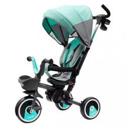 Gyerek tricikli Baby Mix 5az1-ben RELAX 360° menta
