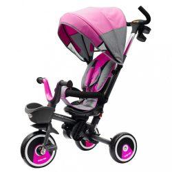 Gyerek tricikli Baby Mix 5az1-ben RELAX 360° rózsaszín