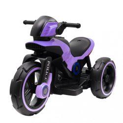 Gyermek elektromos motor Baby Mix POLICE lila