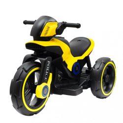 Gyermek elektromos motor Baby Mix POLICE sárga