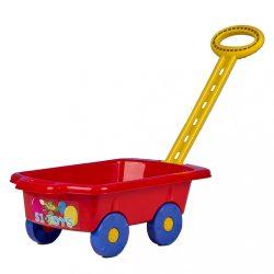Gyerek utánfutó Pótkocsi BAYO 45 cm piros