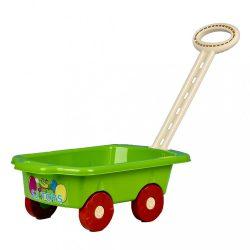 Gyerek utánfutó Pótkocsi BAYO 45 cm zöld
