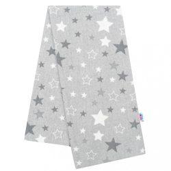 Flanel pelenka nyomtatott mintával New Baby szürke csillagok