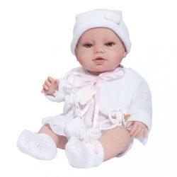 Luxus spanyol baba-kisbaba Berbesa Terezka 43cm