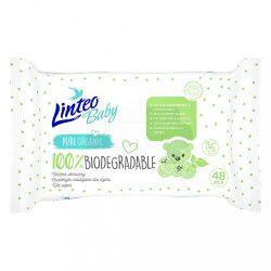 LINTEO Baby 100% biológiailag lebontható 48 db