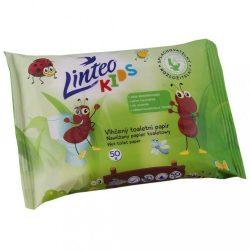 LINTEO KIDS nedves WC-papír lehúzható 50 db
