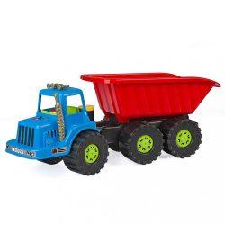 <p>Gyerek billenős teherautó-dömper BAYO Arnie 90 cm</p>