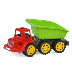 <p>Gyerek billenős teherautó-dömper BAYO Chuck 49 cm</p>