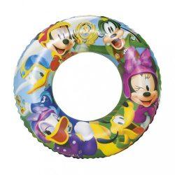 Gyermek felfújható úszógumi Bestway Mickey Mouse Roadster