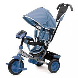 Gyerek háromkerekű bicikli  Baby Mix Lux Trike kék