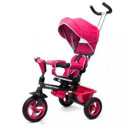 Gyerek tricikli Baby Mix 5az1-ben RIDER 360° rózsaszín