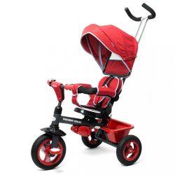 Gyerek tricikli Baby Mix 5az1-ben RIDER 360° bordó