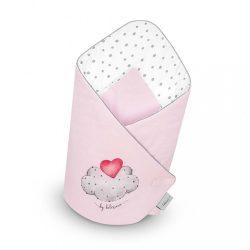 Kókusz pólya Belisima  LOVE rózsaszín