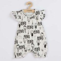 Baba nyári pamut kezeslábas New Baby Paris