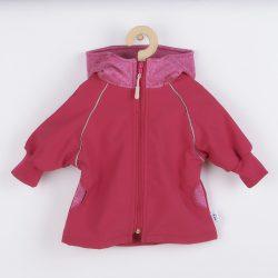 Softshell baba kabát New Baby rózsaszín