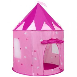 Gyermek sátor vár Baby Mix rózsaszín