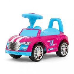 Gyerek futóbicikli Milly Mally Racer pink-blue A CSOMAGOLÁS SERULT