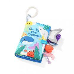Érzékfejlesztő babakönyv Baby Ono Go to the ocean