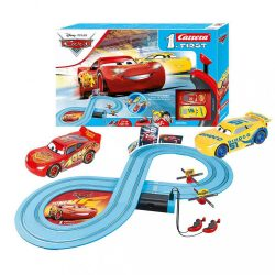 Autópálya Carrera FIRST Cars - Race of Friends 2,4 m