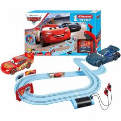 Autópálya Carrera FIRST Disney Cars Piston Cup 2,9m