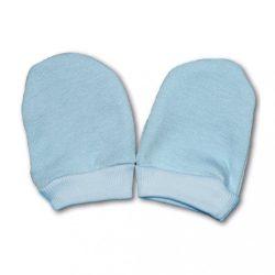 Kesztyű újszülöttek számára kék
