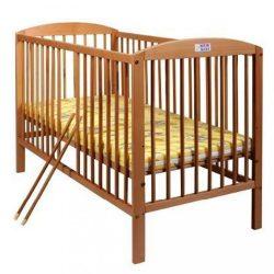 Bükkfa kiságy New Baby Juliet - természetes