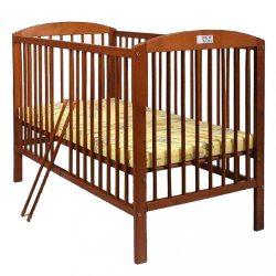 Bükkfa kiságy New Baby Juliet - teak