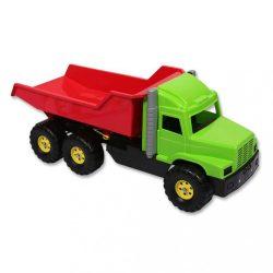 Játék homokozóba - piros-zöld teherautó