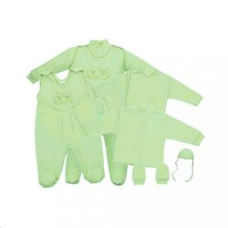 5-részes együttes New Baby zöld