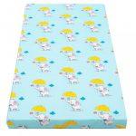 Gyerek matrac New Baby 120x60 hab-kókusz kék mintákkal