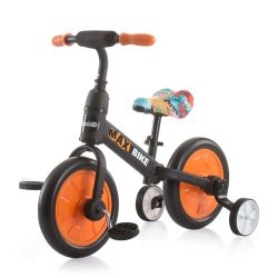 Chipolino Max Bike bicikli segédkerékkel - Orange 2021