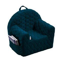 Albero Mio Velvet Kids babafotel - V105 Sötét kék