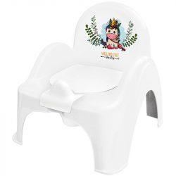 Chipolino Forest bili szék - Unicorn white/pink