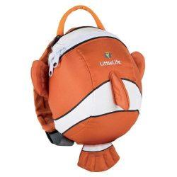 LittleLife gyerek hátizsák pórázzal – bohóchal