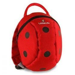 LittleLife gyerek hátizsák pórázzal – katica