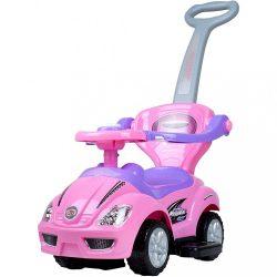 Gyermek jármű 3az1-ben Bayo Mega Car pink KIÁRUSÍTÁS
