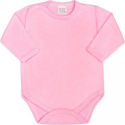 Csecsemő teljes hosszba patentos body New Baby Classic rózsaszín 50-es méret KIÁRUSÍTÁS
