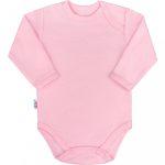 Baba hosszú ujjú body New Baby Pastel rózsaszín 56-os méret (0-3h) KIÁRUSÍTÁS