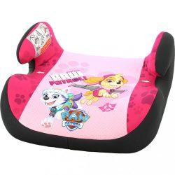 Autós gyerekülés - ülésmagasító Nania Topo Comfort Paw Patrol pink KIÁRUSÍTÁS