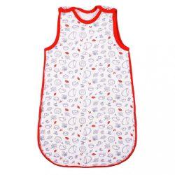 Baba meleg hálózsák New Baby Hedgehog piros 74 (6-9 h) KIÁRUSÍTÁS