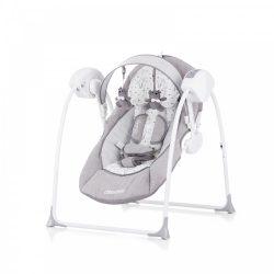 Chipolino Lullaby elektromos babahinta 9 kg-ig - Grey 2020
